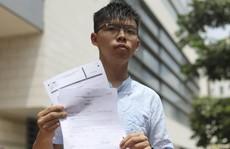 Hồng Kông: Joshua Wong tố bị thẩm vấn khi 'không mảnh vải che thân'