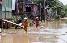 Dân nghèo miền Tây 'chạy đua' với nước lũ