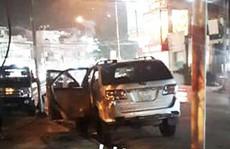 Đập kính ô tô đỗ gần trụ sở Thị ủy, trộm điện thoại di động