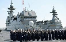 Nhật Bản triển khai 3 chiến hạm đến biển Đông