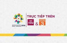 Lịch xem tường thuật trực tiếp ASiAD 2018 trên VTC