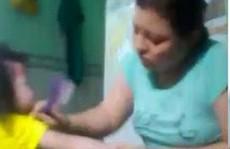 Phẫn nộ với clip bảo mẫu đánh đập dã man trẻ khi cho ăn