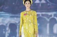 Thí sinh Hoa hậu Việt Nam 2018 duyên dáng với áo dài 'Ướp hương'