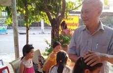 Nặng lòng với trẻ em nghèo