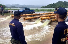 Nguy cơ nước tràn đập ở Thái Lan