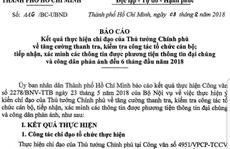 TP HCM kỷ luật hàng loạt cán bộ sau gần 500 cuộc thanh – kiểm tra