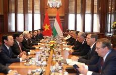 Việt Nam - Hungary nâng quan hệ lên 'Đối tác toàn diện'