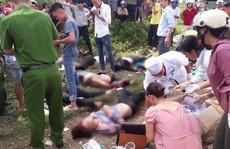 Tai nạn thảm khốc xe bồn tông xe khách xuống vực: 13 người chết, 3 người bị thương