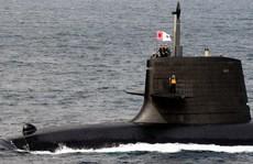 Tàu ngầm Nhật Bản tập trận lần đầu tiên ở biển Đông