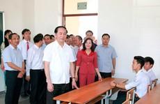 Những hình ảnh đẹp, gần gũi của Chủ tịch nước Trần Đại Quang với mái trường xưa