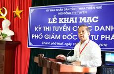 Thừa Thiên - Huế tổ chức thi tuyển Phó Ban Nội chính Tỉnh ủy