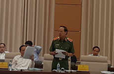 Thứ trưởng Lê Quý Vương đề cập vụ án Vũ 'nhôm', Út 'trọc' trong báo cáo tại QH