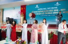 Trường THCS - THPT Tân Phú khai giảng năm học mới