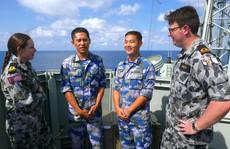 Trung Quốc tập trận ở Úc nhưng không được bắn đạn thật