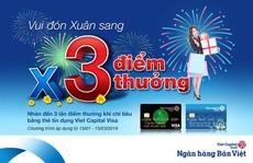 Chi tiêu dịp Tết, được hoàn tiền đến 1,5% tại Viet Capital Bank