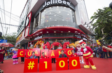 Jollibee Việt Nam mở cửa hàng thứ 100 tại Việt Nam