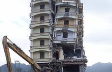 Phá dỡ ngôi nhà 7 tầng của ông trùm ma túy Tàng Keangnam