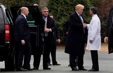 Bác sĩ Nhà Trắng nói sức khỏe ông Trump 'tuyệt vời'