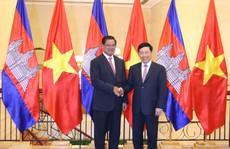 Việt Nam-Campuchia đặc biệt chú trọng hợp tác và phát triển các tỉnh biên giới
