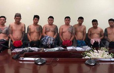 Bắt giữ băng nhóm giang hồ Vũ 'bông hồng' khét tiếng miền Nam
