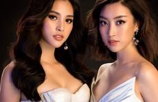 Hoa hậu Tiểu Vy diện váy hở, đọ dáng cùng Đỗ Mỹ Linh