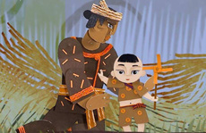 'Một đồng tiền vàng' - phim hoạt hình rối bóng Việt chào Xuân
