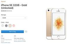 Apple 'xả' iPhone SE tồn kho
