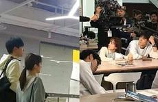 Đoàn phim của Hồ Nhất Thiên bị chỉ trích vì ngăn học sinh vào nhà vệ sinh