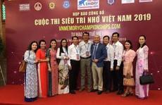 """Khởi động cuộc thi """"Siêu trí nhớ Việt Nam 2019"""""""