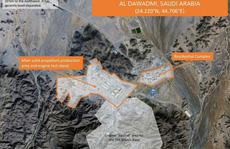 Ả Rập Saudi bị nghi chế tên lửa đạn đạo 'giống Trung Quốc'
