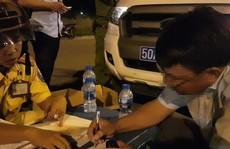 TP HCM: Phát hiện 10 tài xế đang 'phê' khi ôm vô lăng