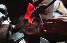 Cà phê than nóng độc đáo ở Indonesia