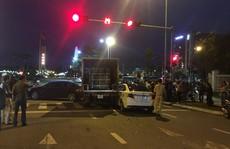 Xe tải tông 2 ôtô đang dừng đèn đỏ đã hết hạn kiểm định 3 tháng