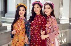 Ngất ngây với vẻ đẹp của top 3 hoa hậu Việt Nam 2018