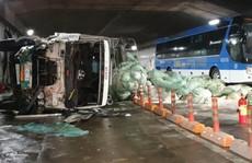 Giám đốc hầm sông Sài Gòn nói gì về vụ xe tải tông liên hoàn gữa hầm?
