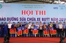 Hà Nội: Thợ bảo dưỡng sửa chữa xe buýt sôi nổi tranh tài