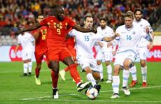 Lukaku lập kỷ lục ghi bàn, Bỉ giành vé đầu tiên đến EURO 2020