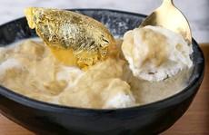 Món sầu riêng dát vàng 24k sang chảnh bậc nhất Singapore