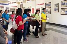 Cán bộ Công đoàn tìm hiểu chiến công của Nữ tướng Nguyễn Thị Định