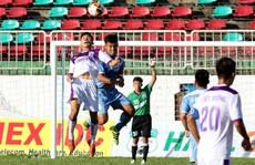 Giải U21 quốc gia: Sân chơi im ắng và vắng khán giả