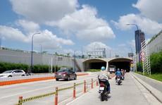 NÓNG: Cấm xe qua hầm sông Sài Gòn chiều 2 ngày cuối tuần này
