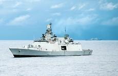 Tàu tên lửa dẫn đường tàng hình của Ấn Độ sắp thăm Việt Nam