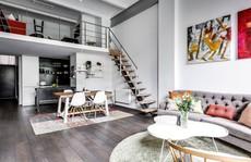 Tận dụng trần cao, thiết kế thêm gác lửng cho căn hộ siêu xinh