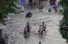 TP HCM: Triều cường gây ngập kinh hoàng ở quận 7