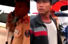 Vụ người dân ghi hình tại chốt CSGT  bị hành hung: Lực lượng chức năng 'sơ suất' rơi bộ đàm