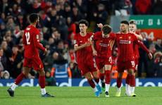 Rượt đuổi 10 bàn thắng, Liverpool hạ Arsenal ở cúp Liên đoàn