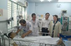 Cậu bé bệnh nặng tới nỗi không thể chuyển viện ở Bà Rịa - Vũng Tàu hồi sinh thần kỳ