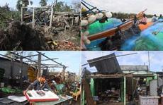 """Rời Việt Nam, bão Matmo """"sống lại"""" tấn công Ấn Độ và Bangladesh"""