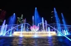 TP HCM: Phố đi bộ Nguyễn Huệ sẽ có nhạc nước hằng đêm