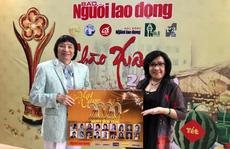 Nghệ sĩ Minh Vương, Lệ Thủy, Thành Lộc hồ hởi giới thiệu lịch 'Mai Vàng – Xuân Canh Tý'
